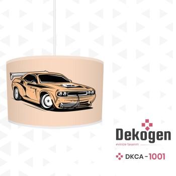 Hızlı Yarış Arabası Erkek Çocuk Odası Avize-DKCA-1001