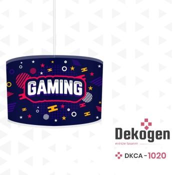 Gaming Tasarımlı  Gamer Serisi Genç Çocuk Odası Avize-DKCA-1020
