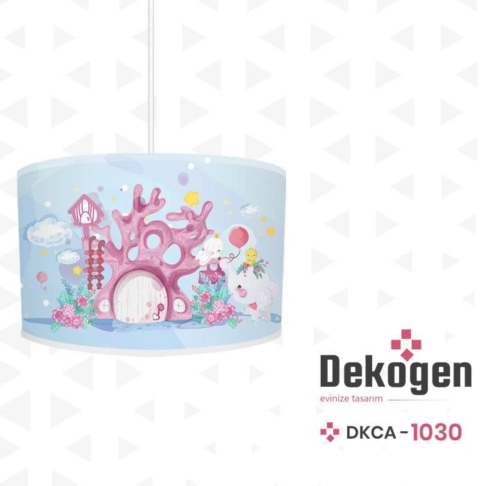 Masal Evi Desenli Kız Çocuk Odası Avize-DKCA-1030