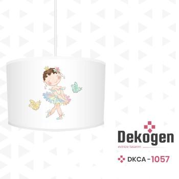 Çiçek Detaylı Balerin Prenses Kız Çocuk Odası Avize-DKCA-1057