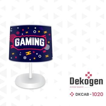 Gaming Tasarımlı  Gamer Serisi Genç Çocuk Odası Abajur-DKCAB-1020