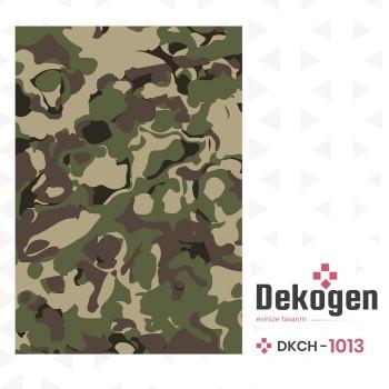Askeri Kamuflaj Desenli Genç Çocuk Odası Halısı-DKCH-1013