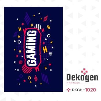 Gaming Tasarımlı  Gamer Serisi Genç Çocuk Odası Halısı-DKCH-1020