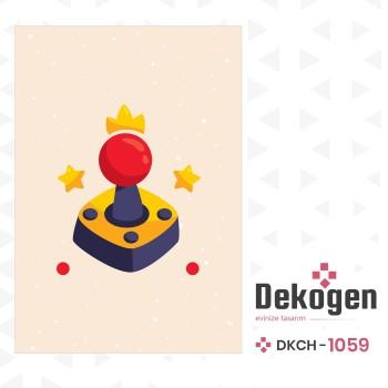 Açık Zeminli Joystick  Gamer Odası Halısı-DKCH-1059