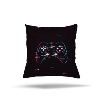 Game Pad  Koyu Zemin  Gamer Serisi Genç Çocuk Odası Kırlent-DKCY-1018
