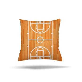 Basketbol  Sahası Ahşap Detaylı  Erkek  Çocuk Odası Kırlent