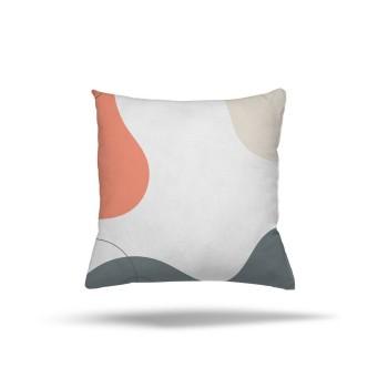 4 Renk Dalga Desenli  Dekoratif Kırlent-DKDY-3004